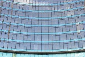 glass window architecture build back