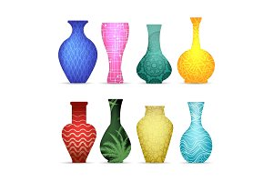 Modern vases collection