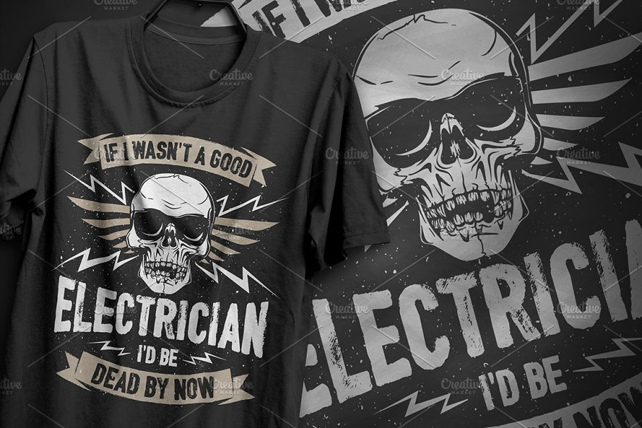 Good Electrician - Typography Design
