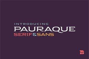 Pauraque - Serif & Sans