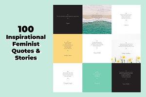 100 Inspirational Feminist Quotes