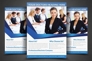 Health & Medical Doctors Flyer Print