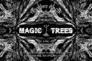 Magic Trees | Texture Pack