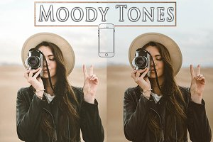 Lightroom Mobile Moody Tones Presets