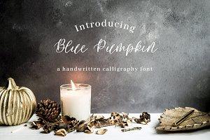 Blue Pumpkin Font