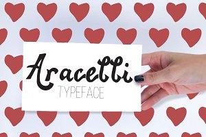 Aracelli: Hand-lettered Typeface