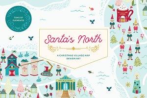 Santa's North Christmas Village