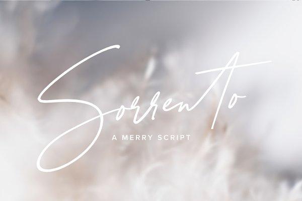 Script Fonts: Jen Wagner Co - Sorrento | A Merry Script