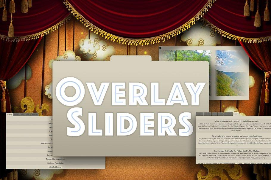 Overlay Sliders Wordpress Plug-In ~ Other Design Software