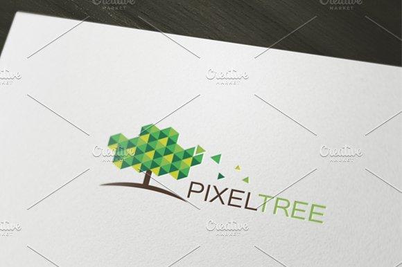 Pixel Tree Logo