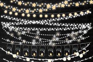 String Lights Clipart