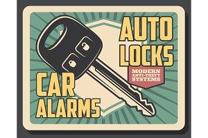 Car security, remote control key
