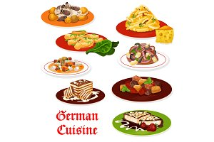 German cuisine meat dishes