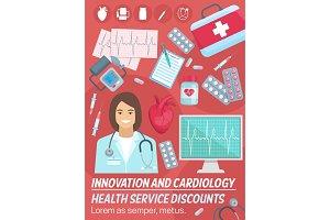 Cardiology, heart. Cardiologist