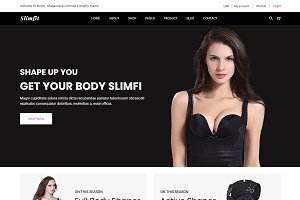 Slimfit - Shapewear Shopify Theme