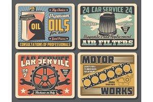 Spare parts. Motor oil, gear, filter