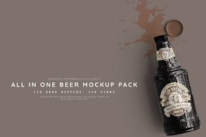 All in One Beer Mockup Pack