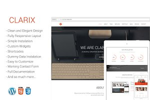 Clarix - Creative Agency WP Theme