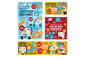 Fast food delivery order service