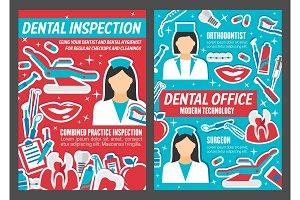 Dentist clinic and dental healthcare