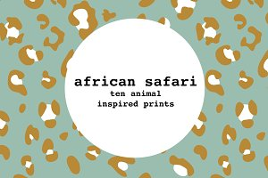 african safari - ten pack bundle