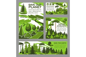 Save planet ecology green project