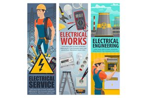 Engineering, electrician service