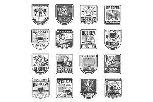 Hockey sport championship vector