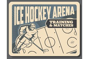 Hockey training and matches