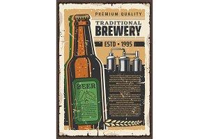 Brewery premium quality beer