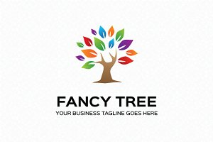 Fancy Tree Logo Template