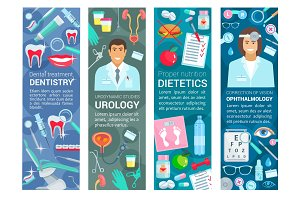 Dentistry, urology and dietetics