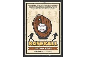 Baseball league tournament