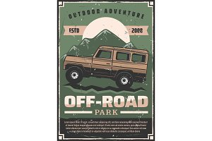 Off-road car adventure travel club