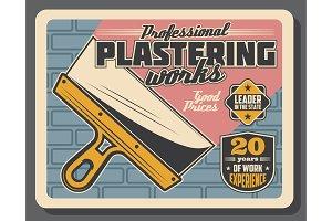 Plastering work service