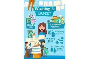 Laundry and washing home service