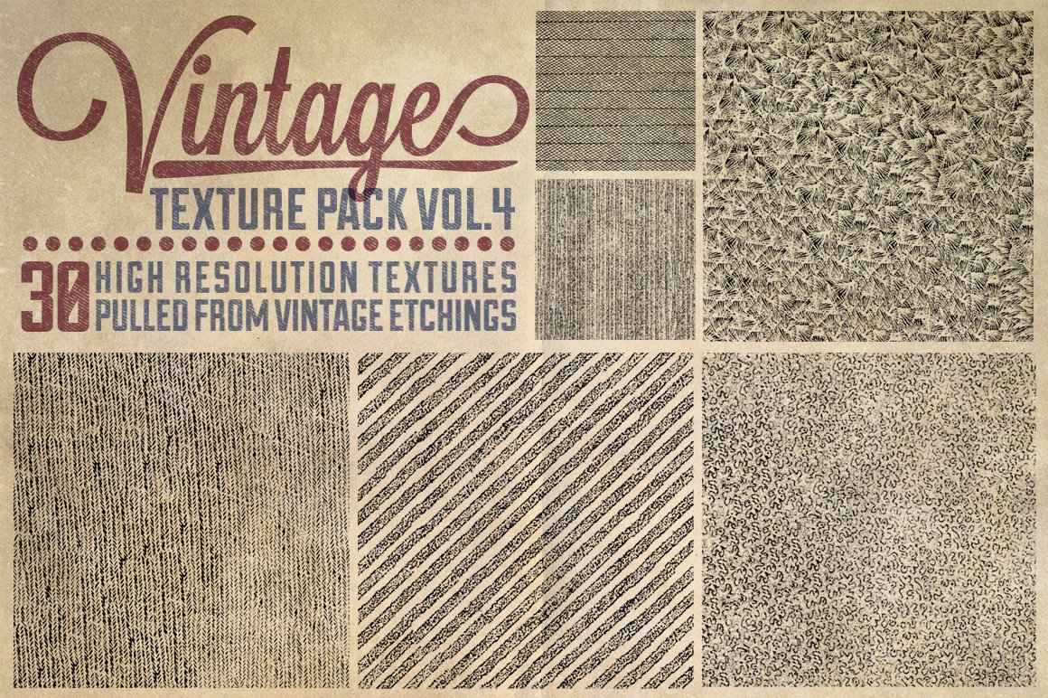 Vintage Vector Texture Pack Textures Creative Market