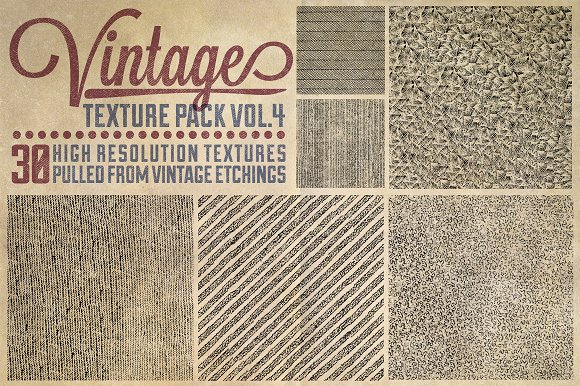 Vintage Texture Pack Vol. 4 - Textures