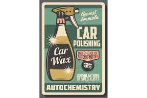 Car chemistry cleaning service