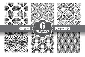 Grunge Seamless Patterns(1)