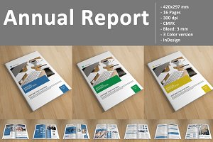 Annual Report Template -V136
