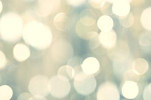 Lights on blurred grey background -