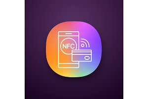 NFC technology app icon