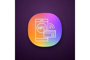 NFC technology app icon