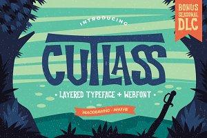 Cutlass Typeface + Bonus