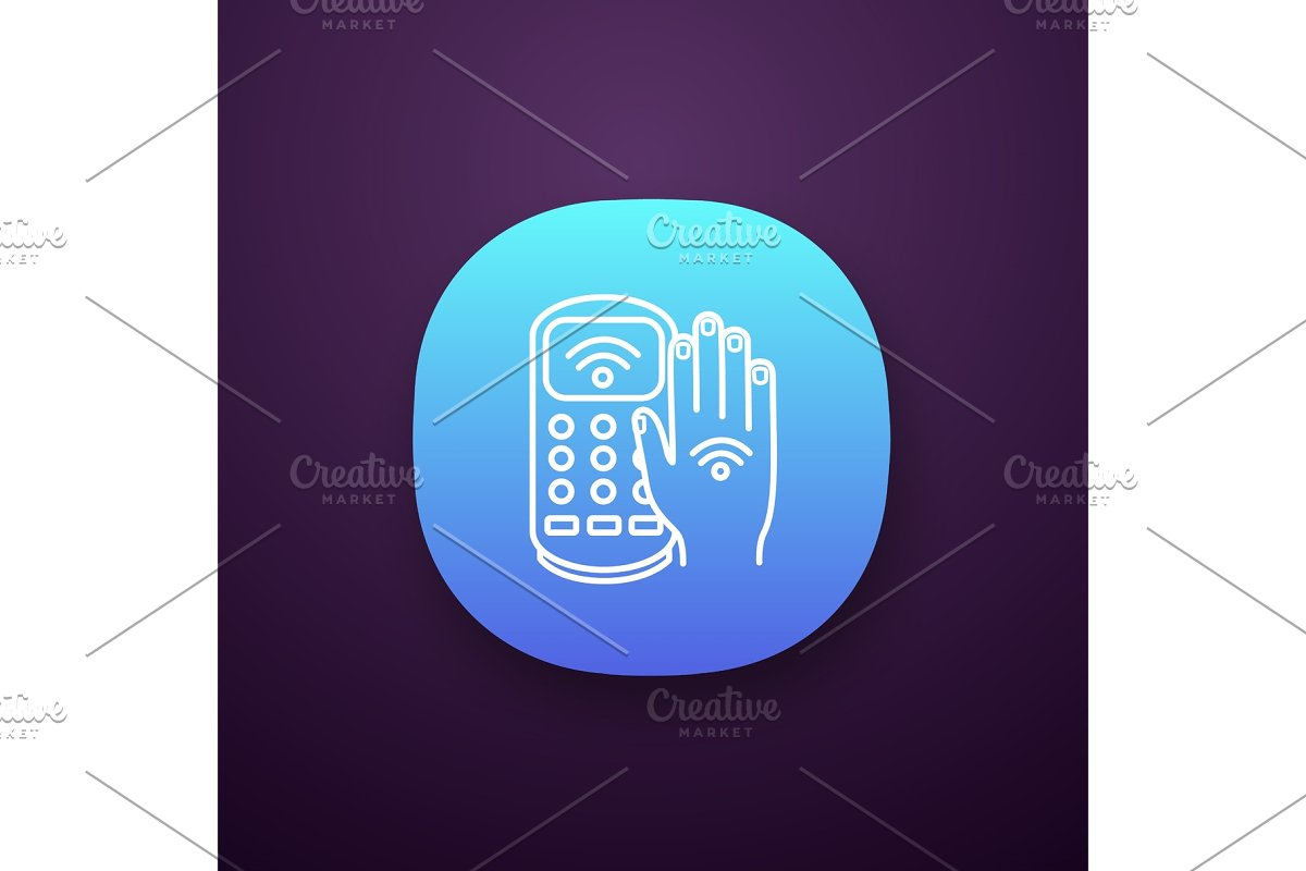NFC payment terminal app icon