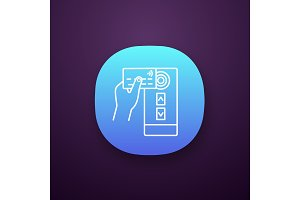 NFC credit card reader app icon