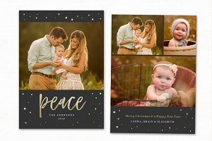 Christmas Card Template CC219