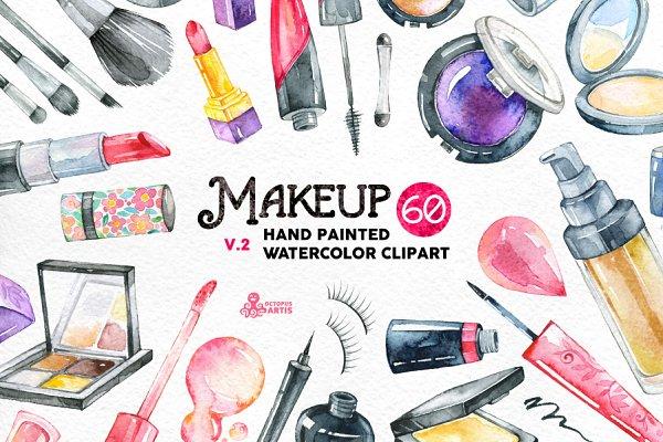 Watercolor Makeup v.2