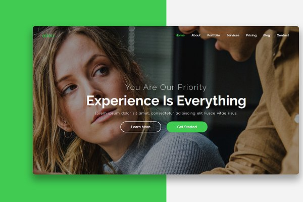 Corporate WordPress Landing Page ~ WordPress Landing Page Themes